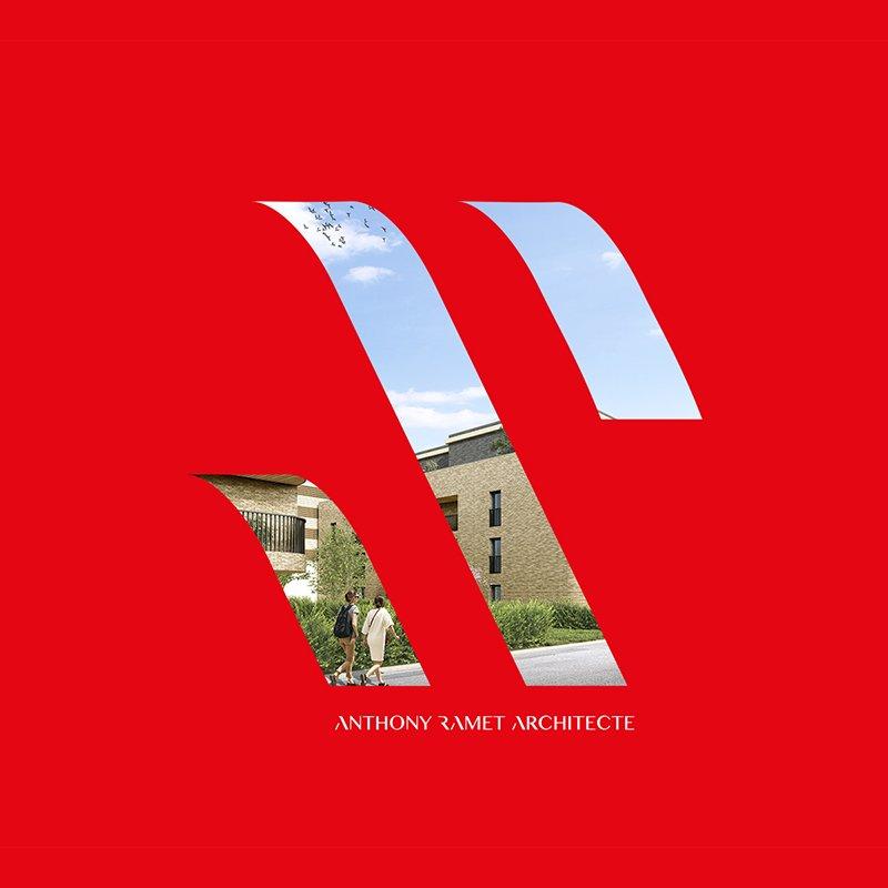 Mise en scène du pictogramme du logo