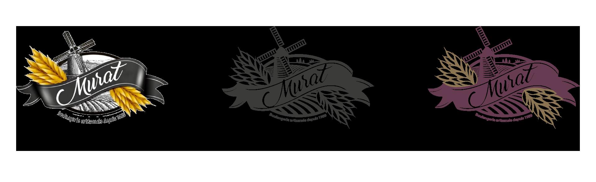Évolution du logo de la boulangerie