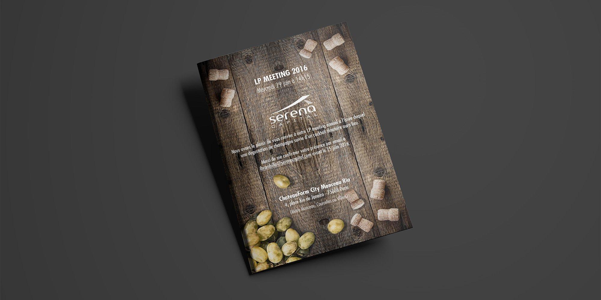 Flyer d'invitation