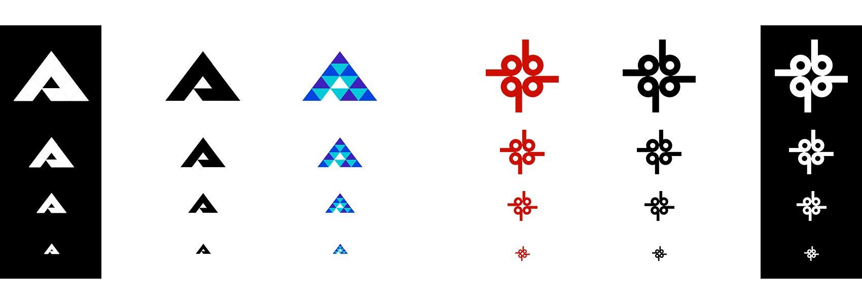 2 concepts fictifs en couleurs et N&B